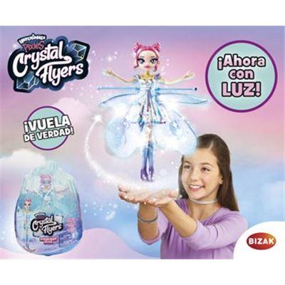 Hada voladroa crystal con luz