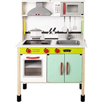 Woomax-cocina madera electronica 70x30x104cm- - 05649008