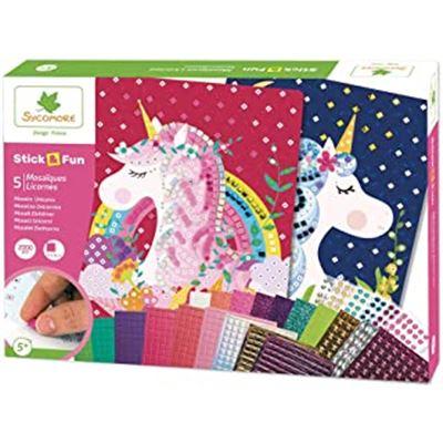 Stick´n fun mosaics unicorns - 50594800