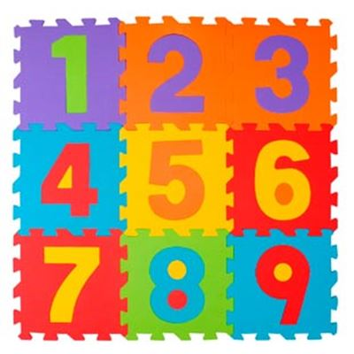 Numbers- puzzle 9 pzas. - 50523979