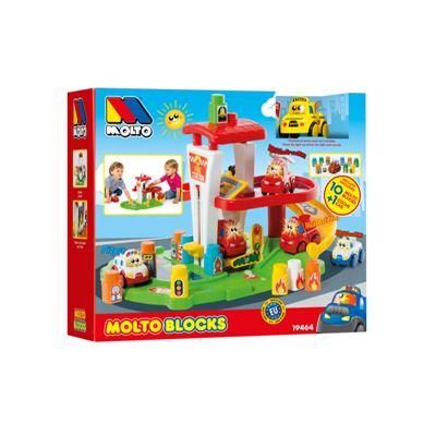 Fire station + 10 bl - 8410963194647