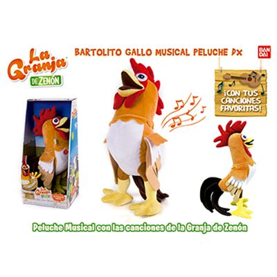 Bartolito gallo musical - 02580004