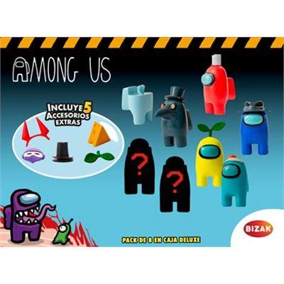 Among us- pack 8 en caja de luxe - 03502070