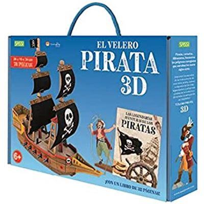 Barco de piratas 3d - 2021