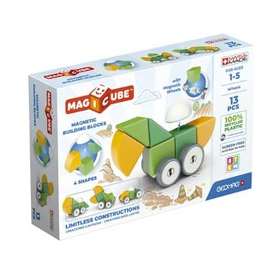 Geomag magicube green wheels 13 pcs - 23300202