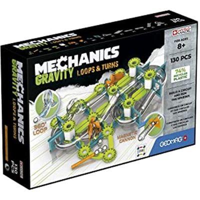 Mechanics gravity recic loops & turns 130