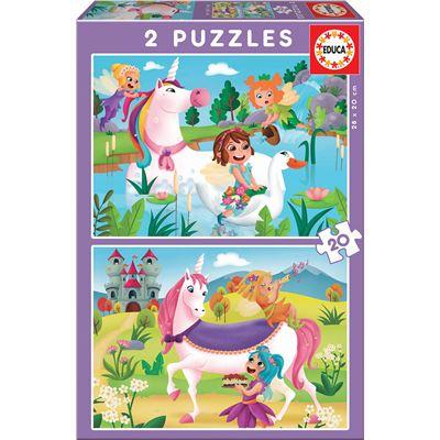 2x20 unicornios y hadas - 8412668180642