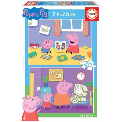 2x20 peppa pig - 8412668180871