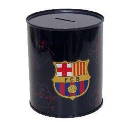 Hucha cilíndrica pequeña fc barcelona - 8426842081403