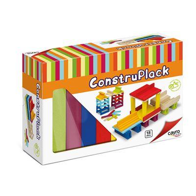 Construplack - placas apilables 70 piezas - 8422878808724