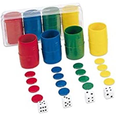 Acc. parchís 4 jugadores en caja de plástico - 8422878700127