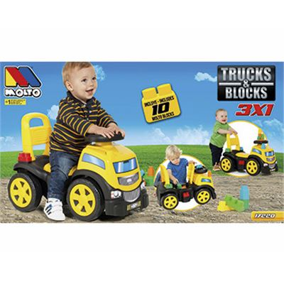 Correpasillos camión con 10 blocks - 8410963172201