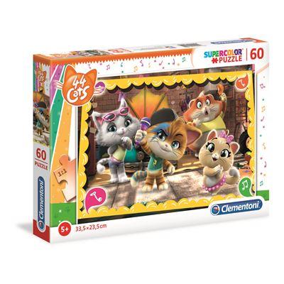 Puzzles 60 piezas 44 gatos - 8005125260522