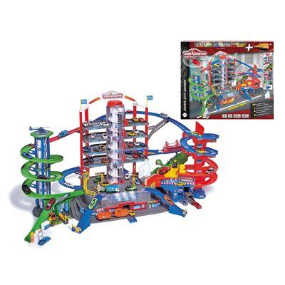 Majorette- garaje supercity 7 plazas - 3467452051658