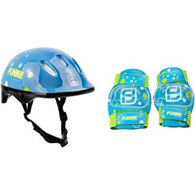 Set de protecciones (casco+coderas+rodilleras)niño - 50523749