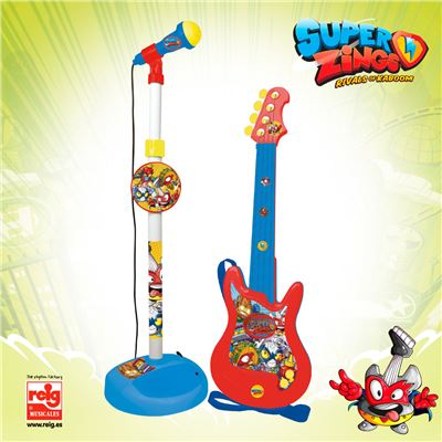 Micro y guitarra superzings - 8411865024209