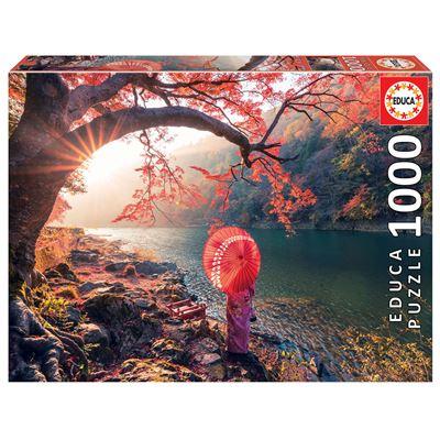1000 amanecer en el río katsura, japón - 8412668184558