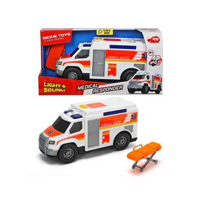 Action series- ambulancia 30 cm - 4006333049897