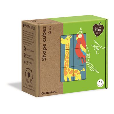 12 cubos formas de animales - 8005125162284