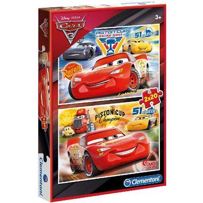 Puzzles 2x20 piezascars 3 - 8005125070275