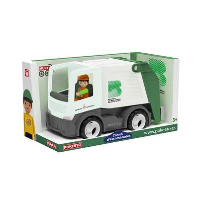 Camio escombreries (camio + conductor) - 843653612678