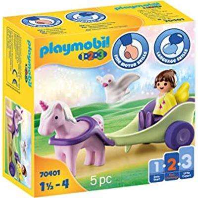 1.2.3 carruaje unicornio con hada - 30070401