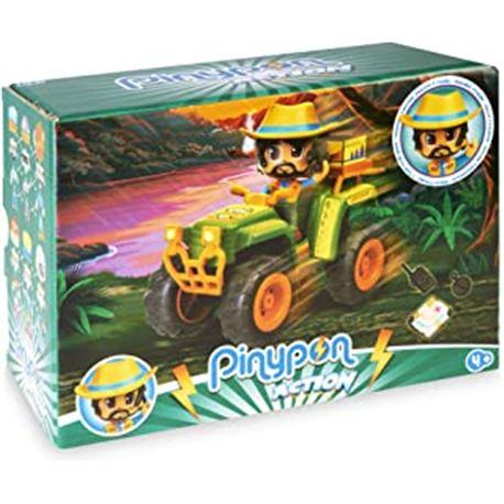 Pinypon action. wild. coche quad - 13008821