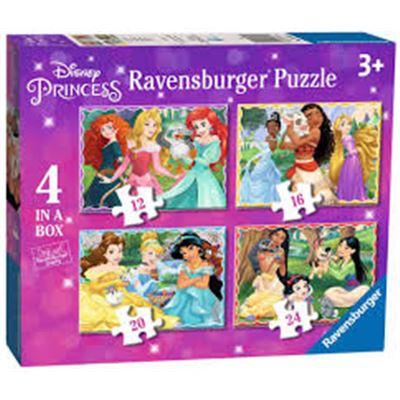 4 in a box princesas disney - 26903079