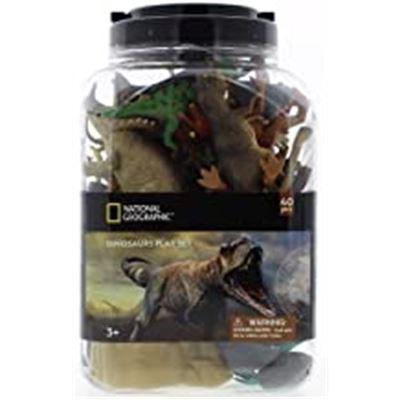 Cubo 40 pzas. dinosaurios (24fig + 16 acc) - 48335875