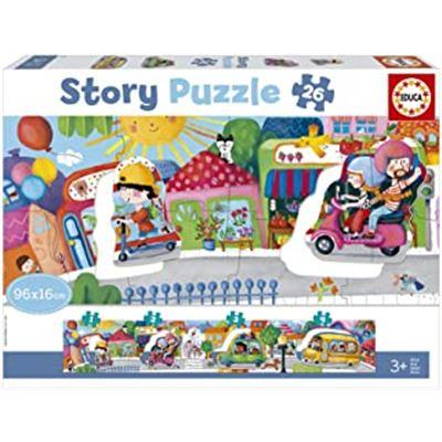 """26 vehículos en la ciudad """"story puzzle@chr - 04018901"""