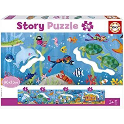 "26 mundo submarino ""story puzzle"" - 04018902"