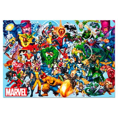 1000 los héroes de marvel - 04015193
