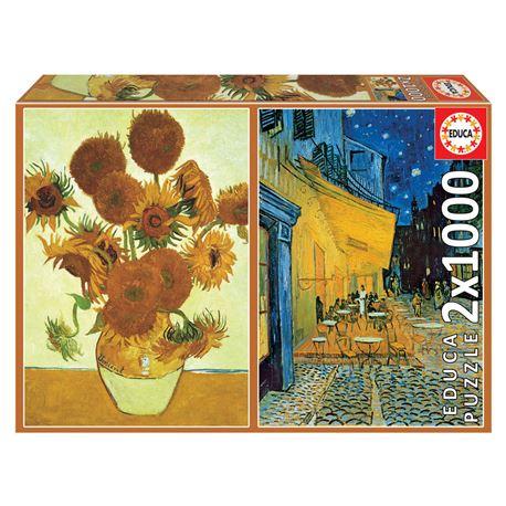 2x1000 los girasoles + terraza de café por la noch - 8412668184916