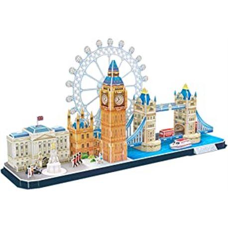 Puzzle 3d city line: londres - 15480984