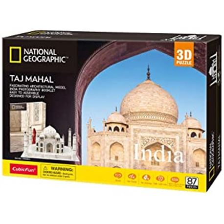 Puzzle 3d taj mahal (national geographic) - 15480989