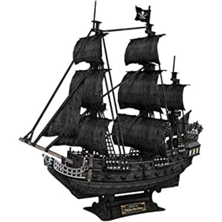 Puzzle 3d queen anne`s revenge ship - 15480986