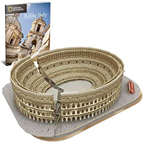 Puzzle 3d colosseum (national geographic) - 15480987
