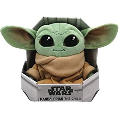 Peluche the child baby yoda 25 cm