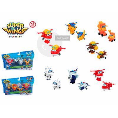 Super wings transform-a-bots pak 4 - 05643952