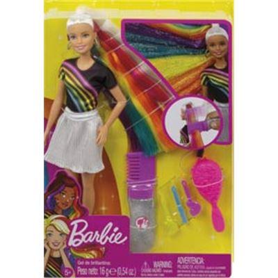 Barbie pelo arcoiris - 24569681