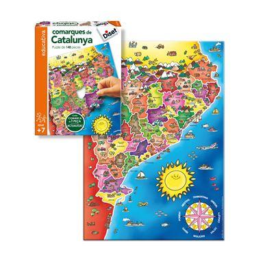 Comarques catalunya - 8410446636640