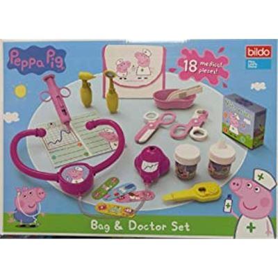 Set y bolsa de doctor peppa pig