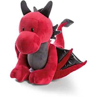 Dragón eldor, peluche de pie 30cm