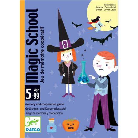 Cartas magic school - 3070900051447