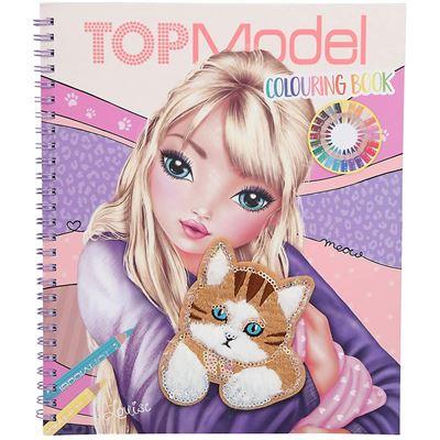 Top model libro para colorear - 4010070575519