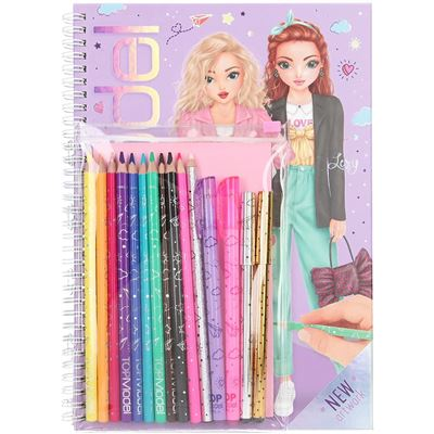 Top model libro para colorear - 4010070578619