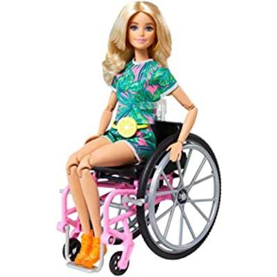 Barbie fashionista silla de ruedas - 24590043