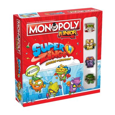 Monopoly junior superzings - 5036905040563