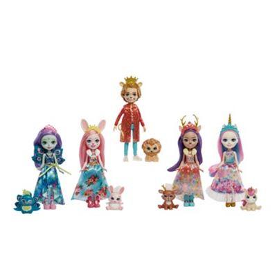 Royal enchantimals pack 5 personajes