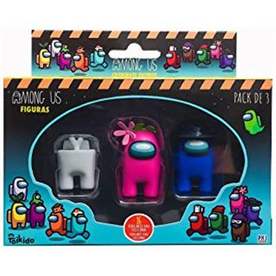 Among us - pack 3 en caja - 03512021